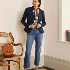 Boden Navy Classic Women's Blazer